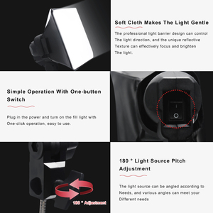 Image 4 - Softbox Light Kit  Shooting Led Lamp Fill Light Studio Light Camera Lighting For Photo Professional Studio Video