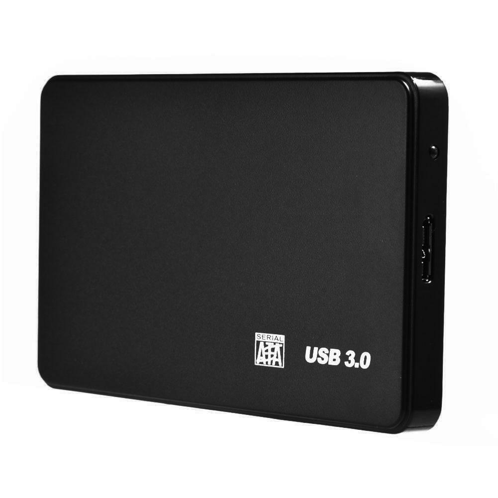 New HDD Case USB3.0/2.0 2.5inch SATA HDD SSD Enclosure Mobile Hard Disk Case Box for Laptop PC USB 3 2T
