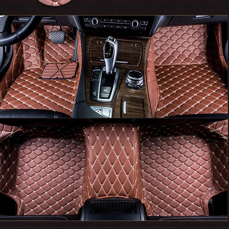 Dywaniki samochodowe dla ZOTYE 2008 5008 T200 T600 Z100 Z200 Z300 Z500 stylowy dywan do samochodu akcesoria samochodowe niestandardowy czarny/beżowy/różowy/czerwony