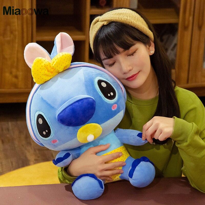 20cm Cute Nipple Bee Stitch Lilo&Stitch Plush Toy For Children Cute Stuffed Animal Doll Kids Baby Toy Cartoon Birthday Xmas Gift