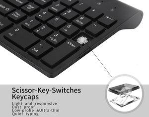 Image 2 - SeenDa Low Noise Wireless Keyboard and Mouse Combo Ultra Thin Wireless Keyboard Mouse for Laptop Notebook Computer Smart TV