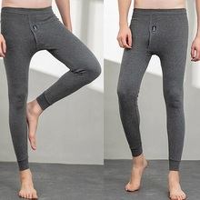 Long-Johns Leggings Underwear Thermo-Clothes Pants Men's Winter Cotton for Warm Breathable
