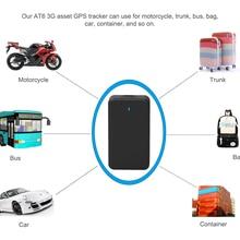AT6 3g Автомобильный gps трекер магнитное устройство слежения AT6 10000 мАч, с большим сроком службы батареи жизни IPX5 Водонепроницаемый локатор трекер