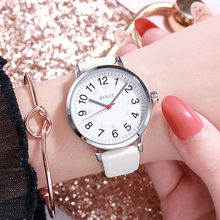 BINZI Women Watches With Bracelet Top Brand Luxury Quartz Ladies Leather Wrist Watches For White Reloj Mujer 2019 Female Clock(China)