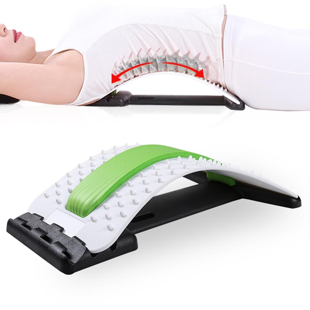 Back Massage Board Neck Stretching Devices Herniated Spine Traction Press Waist Neck Relax Mate Pain Relief Lombard Disc Support