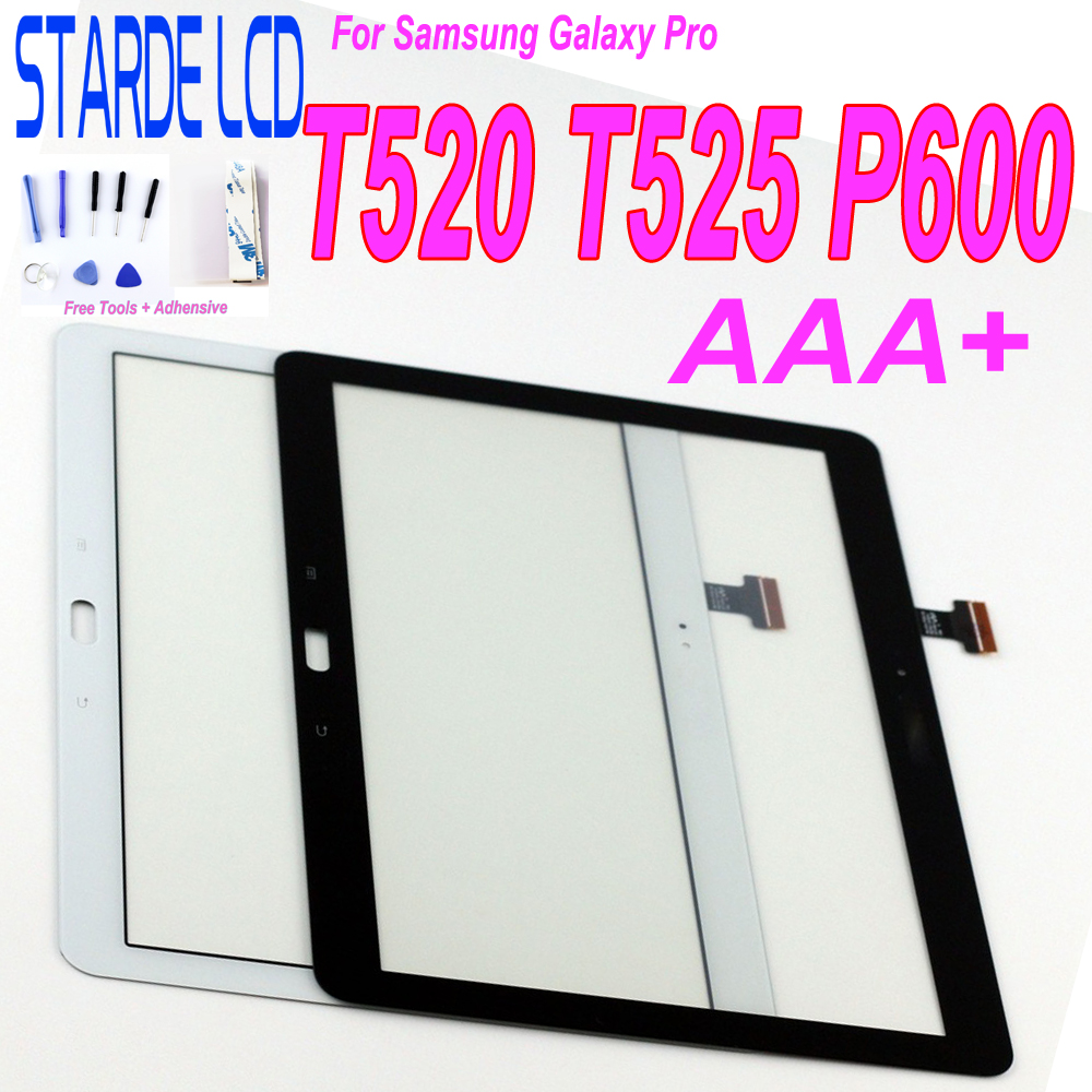 Écran tactile pour Samsung Galaxy Pro T520 SM T520 T525 SM T525 P600 écran tactile numériseur capteur panneau verre tablette remplacement |