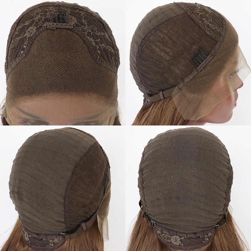 Ombre Schwarz Braun Cosplay Lolita Perücken Mit Gerade Kurze Synthetische Haar Perücke Für Frauen Hohe Temperatur Faser