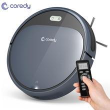 Coredy R300 Robot Vacuum Cleaner Smart Carpet Floor Cleaning Sweeping Robots Auto Charging Dust Aspirador pet hair home Robotic