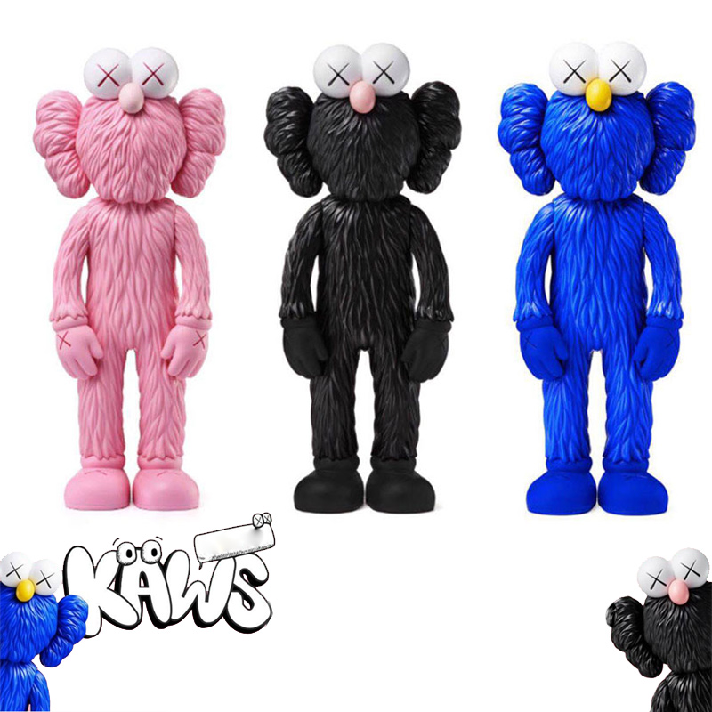 HOT 28CM Collection Action Figures Toys For Children Street Art OriginalFake Model Medicom Toy