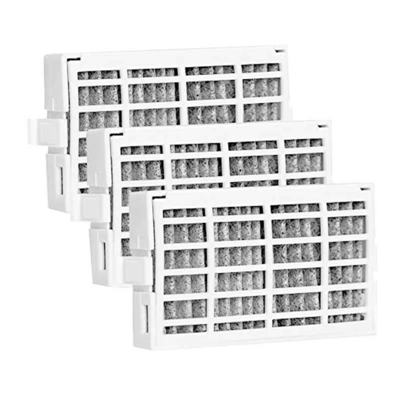 3 sztuk wymiana filtra powietrza dla Whirlpool W10311524 świeże przepływu lodówka