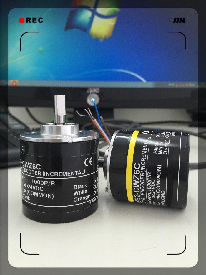 E6B2-CWZ6C 1X 5B Photoelectric Rotary encoder 1000P/R 600P 2000P 360P
