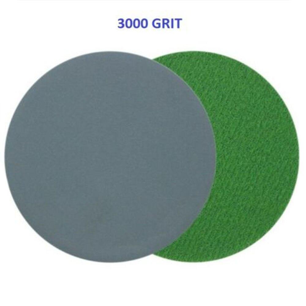 996A3Inch Disc Sandpaper Wet/Dry Grind Polishing 75mm Sanding Disc 1500/2000/3000/5000/7000/10000 Grit