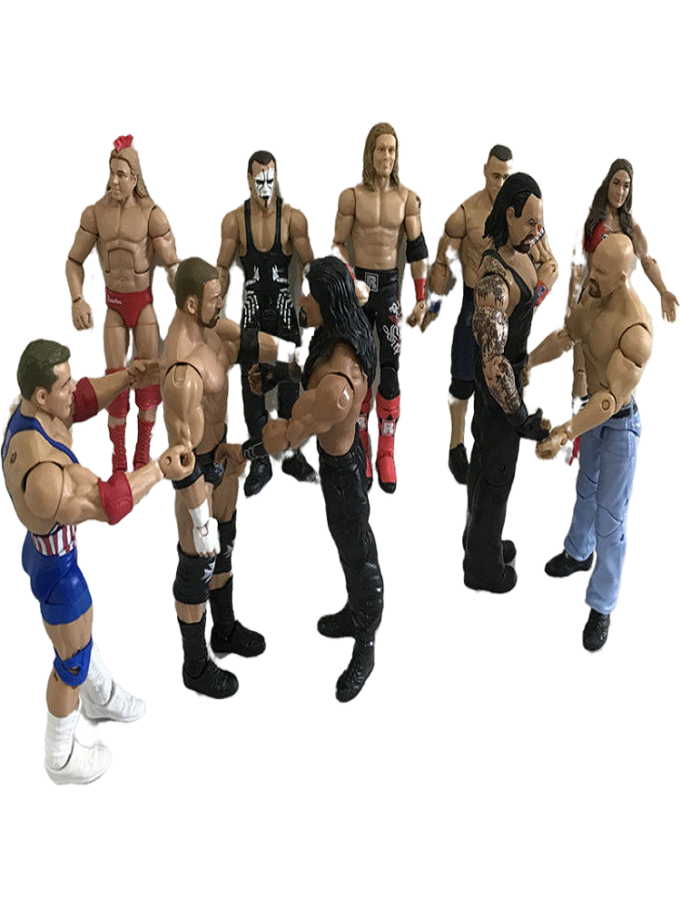 Action-Figure-Toys Wrestler Occupation Wwe-Characters Gladiators Children High-Quality