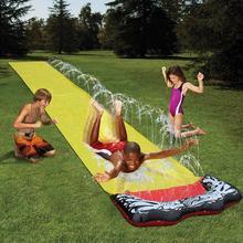 Новые детские водные лыжи Летние Водные игрушки водные виды спорта гигантские водные горки на заднем дворе встроенные Спринклерные доски для серфинга водные горки ИГРУШКИ