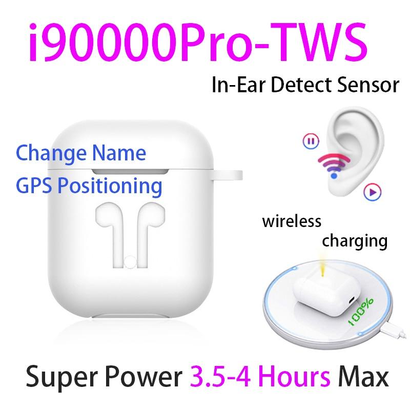Original I90000 Pro TWS 1:1 In-ear Blutooth Earphone Mini Wireless Sport Headsets Headphones Stereo Earbuds Elari PK Aire 2 3