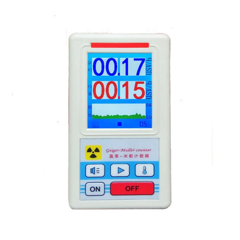 Counter Nuclear Radiation Tester Personal Dosimeter Marble Detector Nuclear Radiation detector  with Display Screen TP-0359