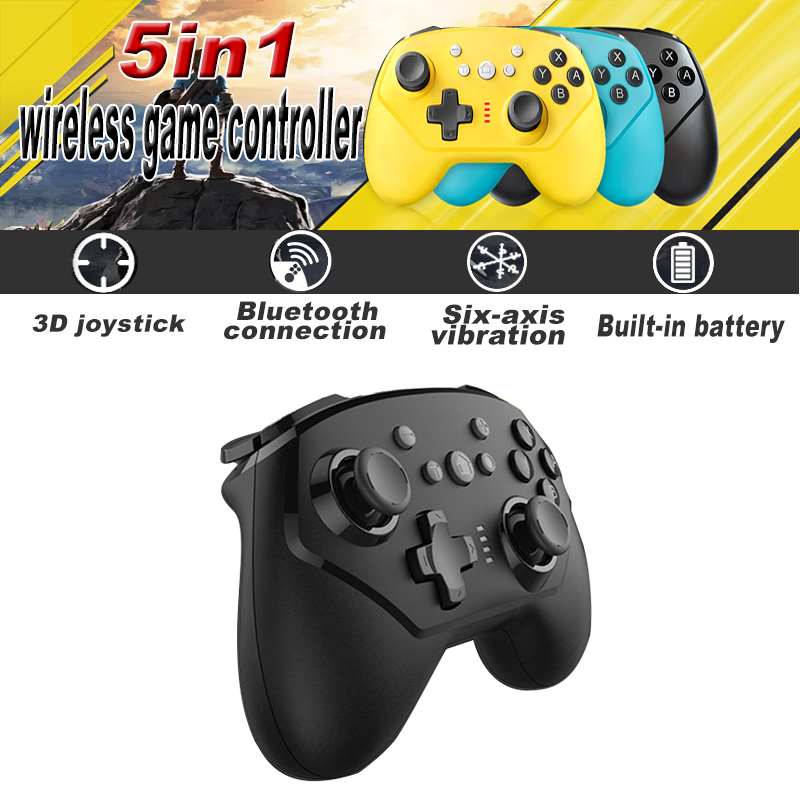 2020 New For Nintend Switch Pro Controller Bluetooth Wireless Gamepads With Axis  amp  Vibration Mando Pro Switch Lite Joystick