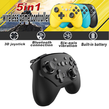 2020 New For Nintend Switch Pro Controller Bluetooth Wireless Gamepads With Axis & Vibration Mando Pro Switch Lite Joystick