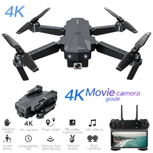 цена на SG107 Foldable RC Drone 4K ESC HD Camera WiFi FPV Drone Follow Me Optical Flow Positioning Altitude Hold RC Quadcopter RTF