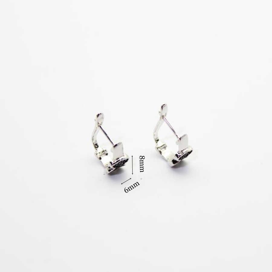 Sólida plata 925, pendientes, pendiente, aro colgante, pendientes para mujer, marca 925, boucle d'oreille, pendientes para mujer de moda