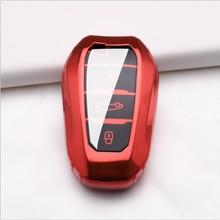 цена на TPU Key Cover for Peugeot 407 508 2008 301 5008 3008 4008 408 Car Key Case 3Button for Peugeot 407 Smart Car Key Case Protection