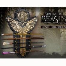 Metall Core Harri Fantestic Schlägt Qualität Deluxe COS Newt Queeni Seraphina Zauberstäbe/Stick mit Geschenk Box Verpackung