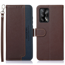 Leather Texture Book Case for OPPO A74 5G 2021 Flip Cover RFID Block 360 Protect Wallet Holder Funda OPPO A94 A 94 54 74 53 A53S