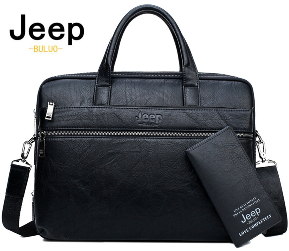 JEEP BULUO JEEP BULUO Men's Briefcase Bags For 13.3