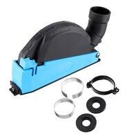 Cubierta de polvo de corte de superficie Universal Premium para amoladora angular de 4 pulgadas a 5 pulgadas, cubierta de accesorio para colector de polvo, herramienta duradera