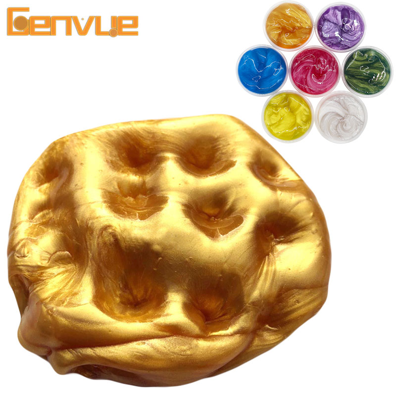 Pearl Powder Glue For Slimes Additives Lizun Polymer Clay For Slimes Supplies Light Plasticine Charms For Slime Set Antistress