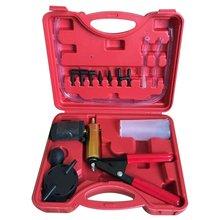Hand Vakuum Pumpe Tester Set Und Bremsentlüftungs Kit Auto Motorrad Selbst Vakuum Pumpe Schraube Adapter Mit Vakuum Gauge