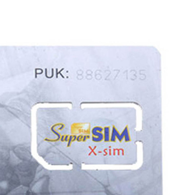 New 16 in 1 Max SIM Card Cell Phone Super Card Backup Cellphone Accessory DOM668