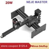 20W cnc Laser Engraver Laser Engraving Machines Mini Carver DIY laser cutter wood router cnc for Metal Wood Engraving machine