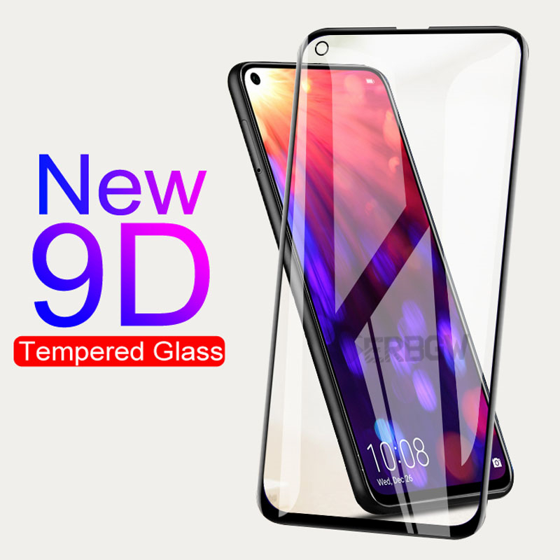 9D Anti-Burst Protective Glass For Huawei Honor View 20 Lite Pro Play 20S 20i V20 10i 9i 9X 8A 8C 8X Tempered Screen Protector