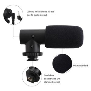 Image 4 - PULUZ 3.5mm Audio Stereo Filmmaking Recoding Photography Interview Microphone for Vlogging Video DSLR &DV For iphone,Smartphones