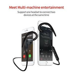 Image 5 - Auriculares deportivos, inalámbricos por Bluetooth, auriculares estéreo de gancho en la oreja BT 01 Hifi con micrófono para teléfonos Samsung, LG, Xiaomi
