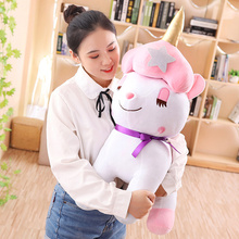 Large Cartoon Unicorn Plush Toy Baby Comfort Doll Toys for Children Girl Home Decoration