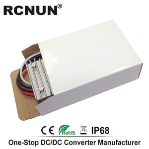 Image 2 - خطوة المتابعة تيار مستمر محول 12 فولت 24 فولت إلى 48 فولت 8A الجهد المنظم ، DC DC امدادات الطاقة دفعة وحدة RC124808 CE بنفايات RCNUN