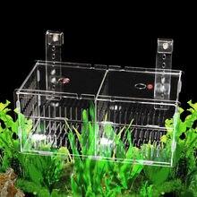Акриловая коробка для изоляции аквариума разведения вылупления