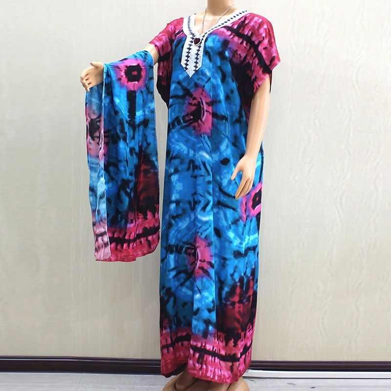 אפריקאי רקמת Mt164 שמלת הדפסת דפוס חיג 'אב כותנה אלגנטי מוסלמי העבאיה Bazin גלימה שמלות ברודר ריש סקסי ליידי המפלגה