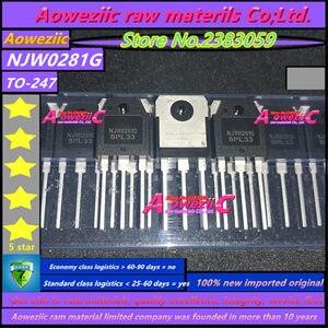 Image 2 - Aoweziic 2019+ 20 PCS = 10pair 100% new imported original NJW0281G  NJW0302G NJW0281G NJW0281 NJW0302 TO 247 Audio matching tube