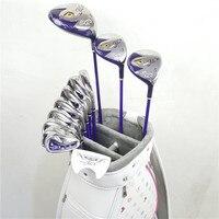 NewMaruman women's Golf clubs Maruman FL3 Golf complete set of clubs driver+fairway wood+irons+putter(no bag)Graphite Golf shaft