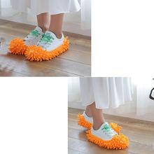 Швабра для обуви съемная и моющаяся из микрофибры чехол мытья