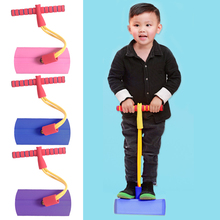 Jumping-Toys Jumper Pogo-Stick Sense Bouncing Training Portable Foam Frog Interactive-Present