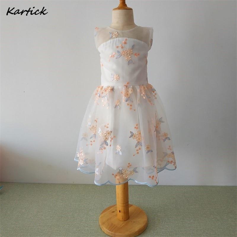 Новое поступление, платья для девочек с цветами, красивое детское/Детское платье для маленьких девочек, элегантное платье принцессы для веч...