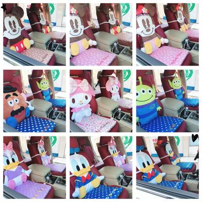 Throw Pillow Melody Disney Cushion Birthday-Gifts Plush-Car Stuffed Anime Mickey Cartoon