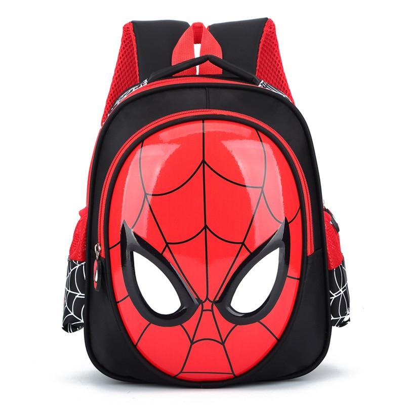 2019 3D 3-6 Year Old School Bags For Boys Waterproof Backpacks Child Spider Book Bag Kids Shoulder Bag Satchel Knapsack