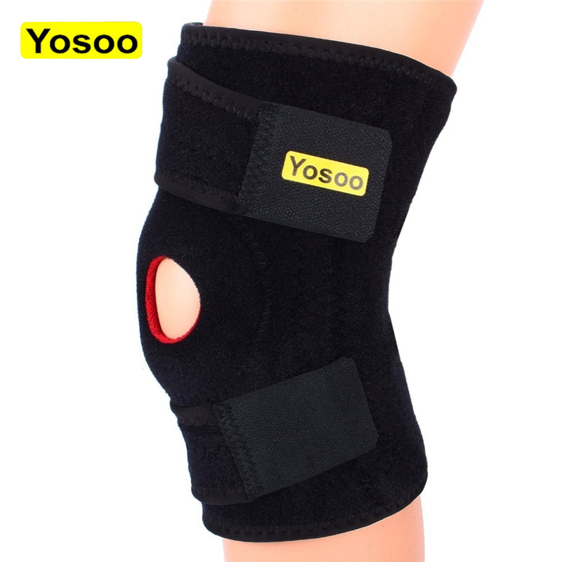 Yosoo Knee Support Brace Patella Gym Weight Lifting Kneepad Hole Joint Guard Braces Protector Bandage Splint Knee Sleeve Brace Brace Support Knee Brace Supportknee Support Aliexpress