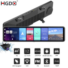 Video-Recorder Car-Dvr Dash-Cam Rear-View-Mirror-Camera Registrar ADAS Android HGDO 1080P