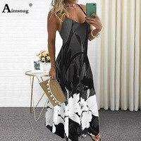 Женское платье с бантом в стиле бохо размера плюс, 4xl, 5xl, 2020 6